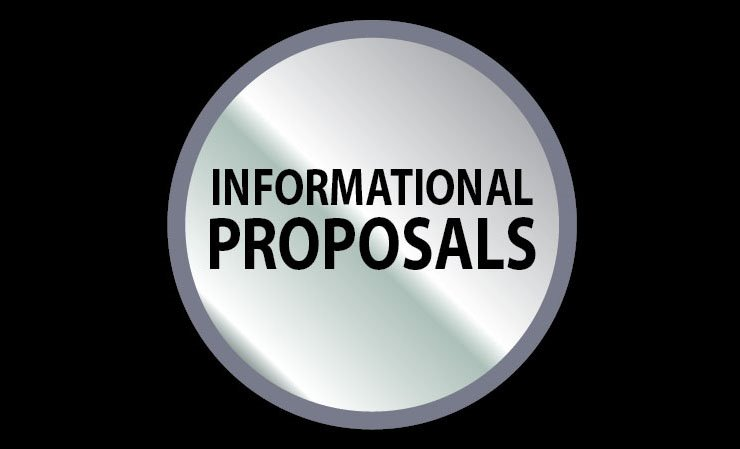 All Informational Proposals for Letting on CD (15073001)