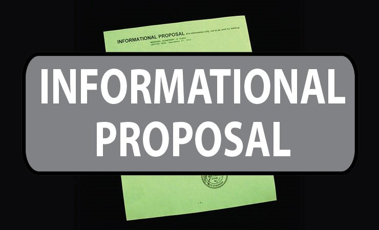 300-35-3(109) - Informational Proposals (15121701)
