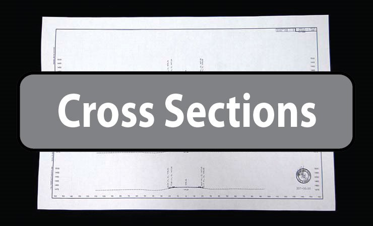 600-S21C(103) - Cross Sections (16090101) (12 Sheets)